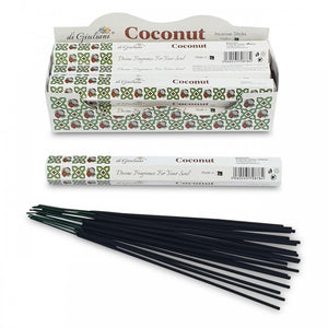 Incense Sticks - Coconut - 20 Sticks