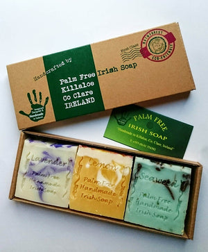 Palm Oil Free Variety Soap (3 Pk Gift Pack)