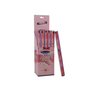 Incense Sticks Satya - Fresh Rose - 9 Sticks