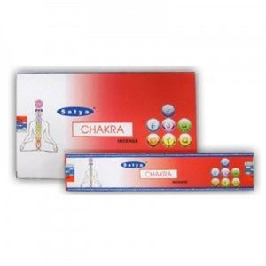 Incense Sticks Satya - Chakra- 12 Sticks