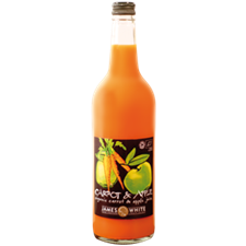 James White Organic Carrot & Apple Juice 25c