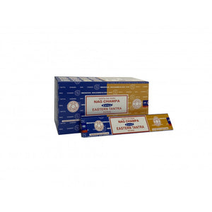 Incense Sticks Satya - Nag Champa Eastern Tantra - 16g (approx 15 Sticks)