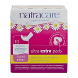 Natracare Ultra Extra Pads Super 10's