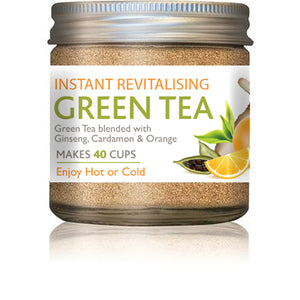 Natures Pharm Green Tea Powder w/Ginseng 25g