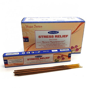 Incense Sticks Satya - Stress Relief - 15g (approx 15 Sticks)