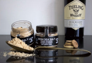 Oriel Sea Salt (Teeling Whiskey Smoked) 100g
