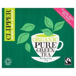 Clipper Organic Pure Green Tea (80 T/bags)