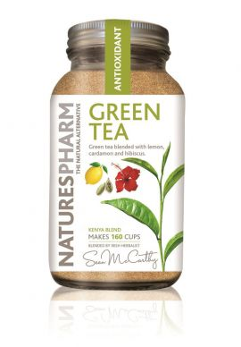 Natures Pharm Green Tea Powder w/Lemon 128g