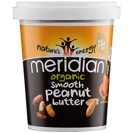 Meridian Organic Peanut Butter Smooth 454g