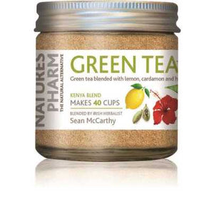 Natures Pharm Green Tea Powder w/Lemon 25g