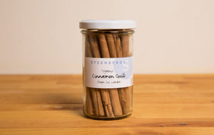 Steenbergs Cinnamon Quills Large Jar 52g