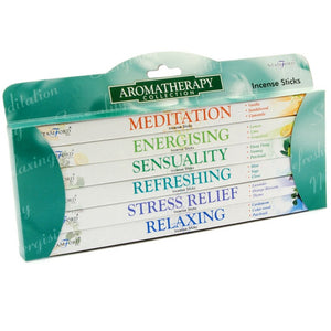 Aromatherapy Incense Sticks - Gift Pack 6