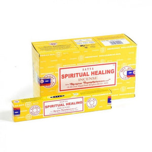 Incense Sticks Satya - Spiritual Healing - 12 Sticks