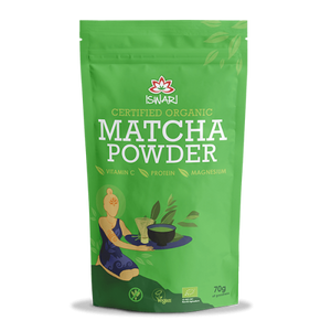 Iswari Matcha Powder Organic Extra Value Pack 84g
