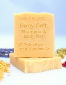 Palm Oil Free Babysoft Shampoo and Body Bar 90g