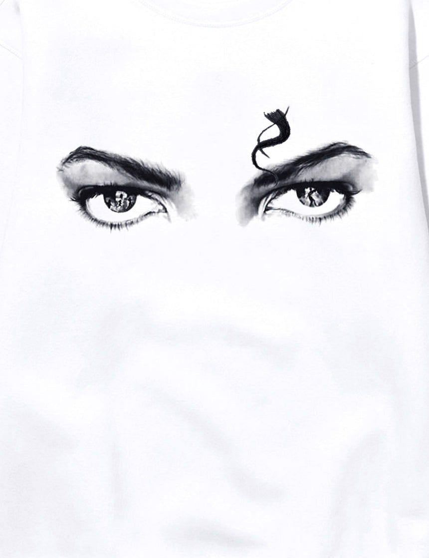 Eyes Hooded Sweatshirt