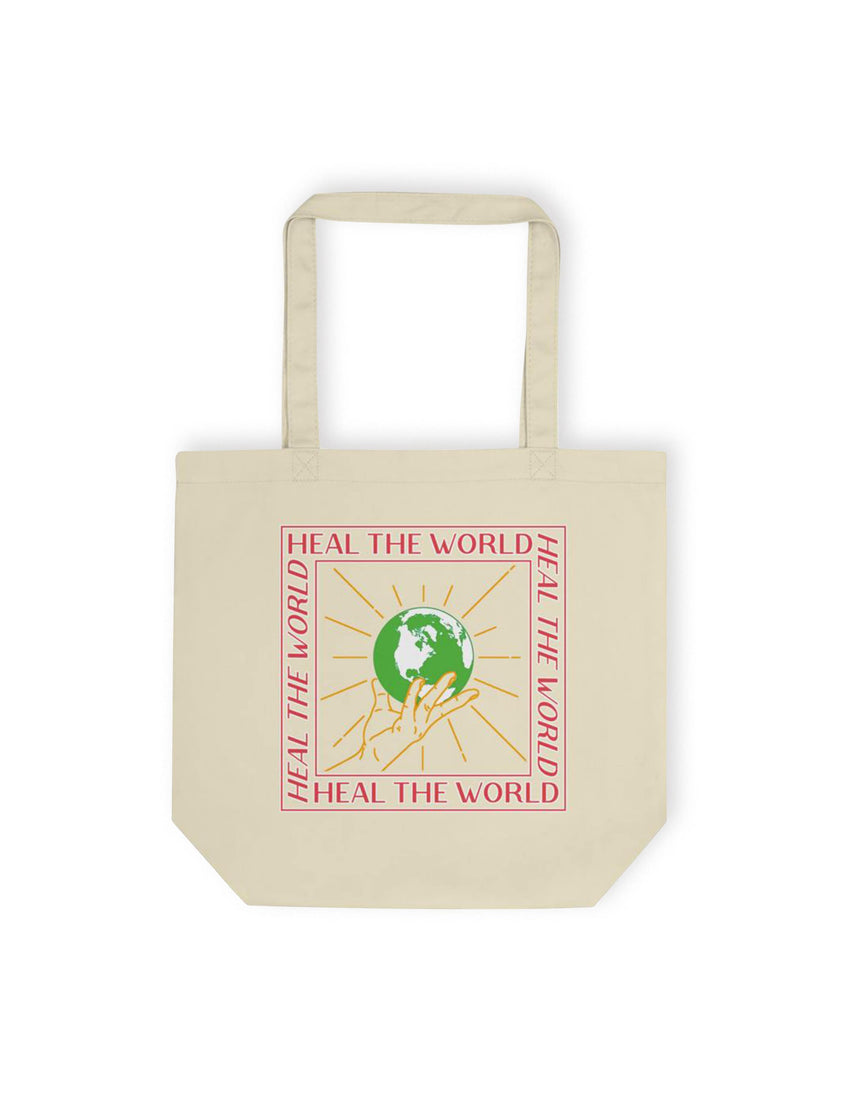 Heal The World Eco Tote Bag