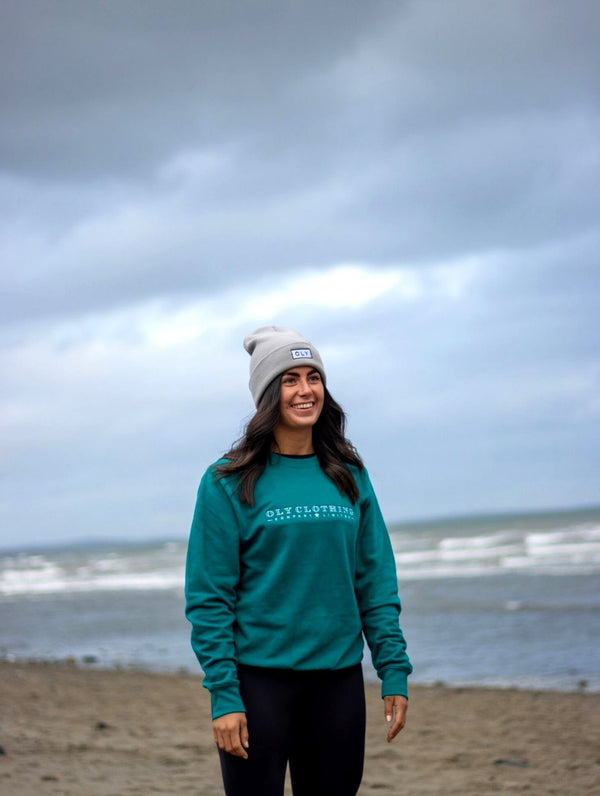 Unisex LTD Jumper - Jade Teal - OLY Clothing