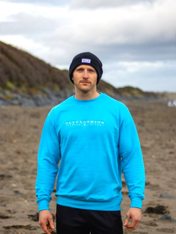 Unisex LTD Jumper - Baby Blue - OLY Clothing