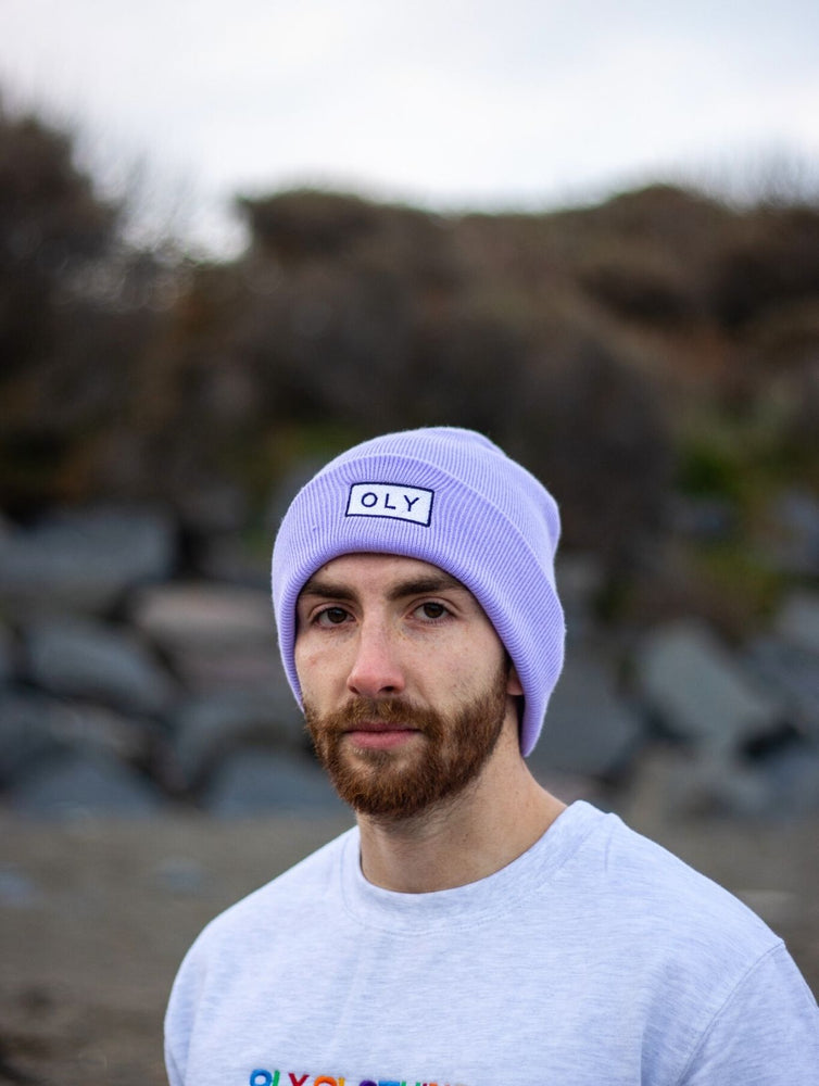 Beanie Hat - Lilac - OLY Clothing