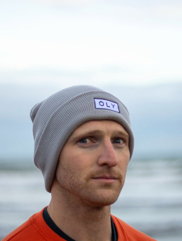 Beanie Hat - Silver Grey - OLY Clothing