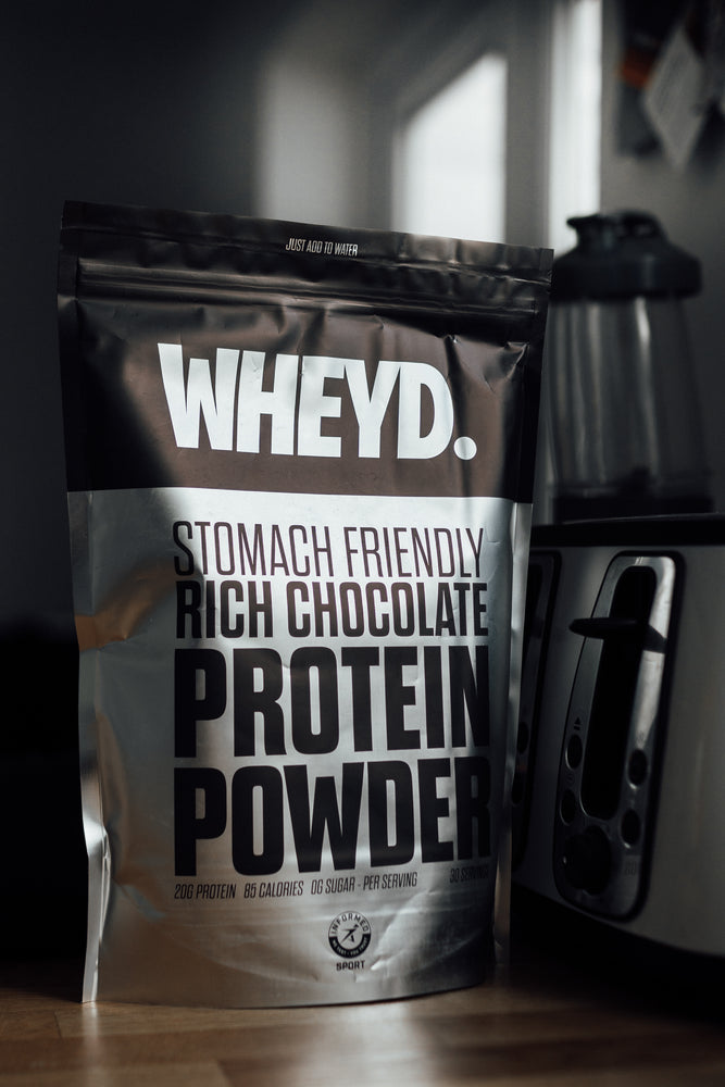 WHEY'D - Rich Chocolate Lactose Free 720g - OLY Clothing