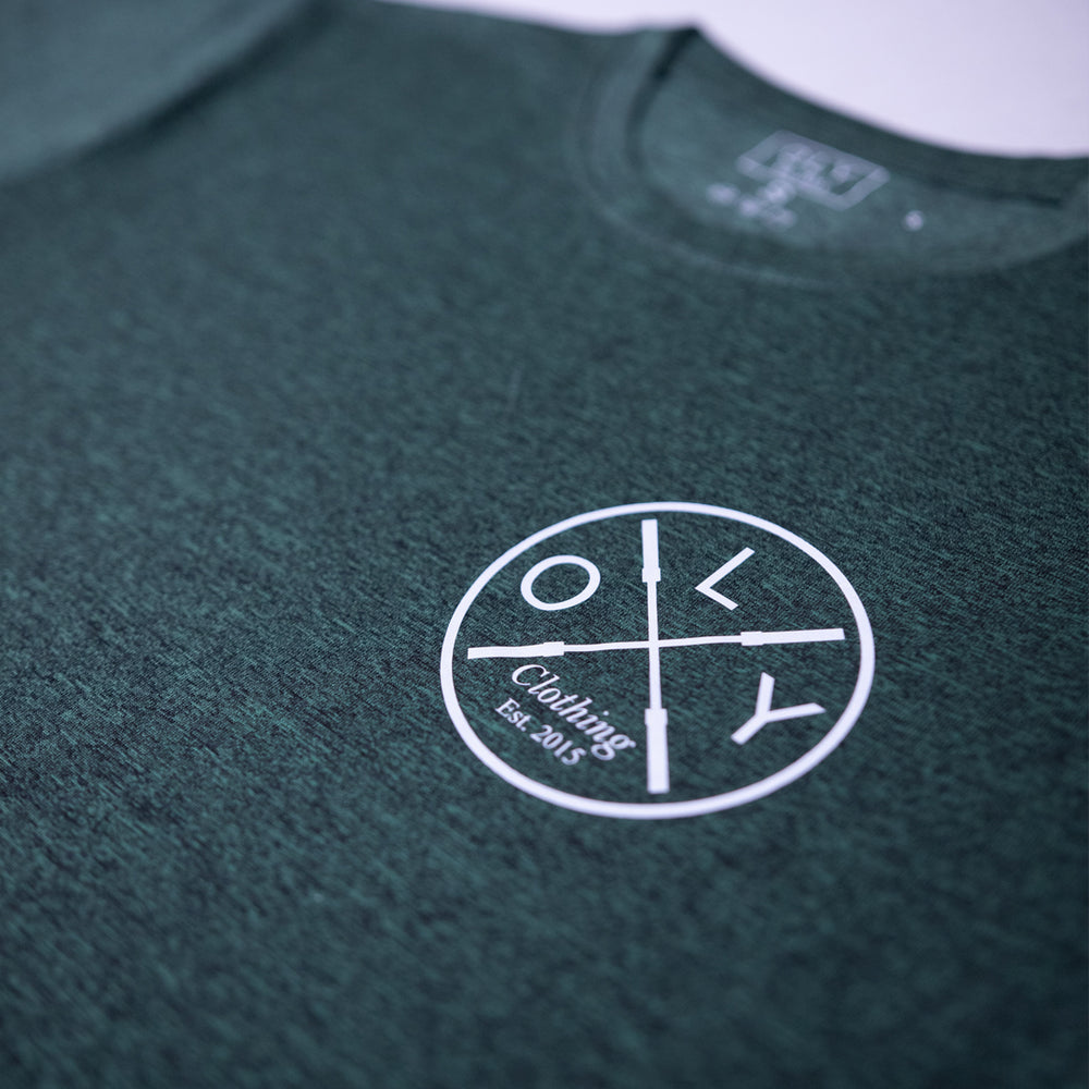 Performance T-shirt - Forrest Green - OLY Clothing