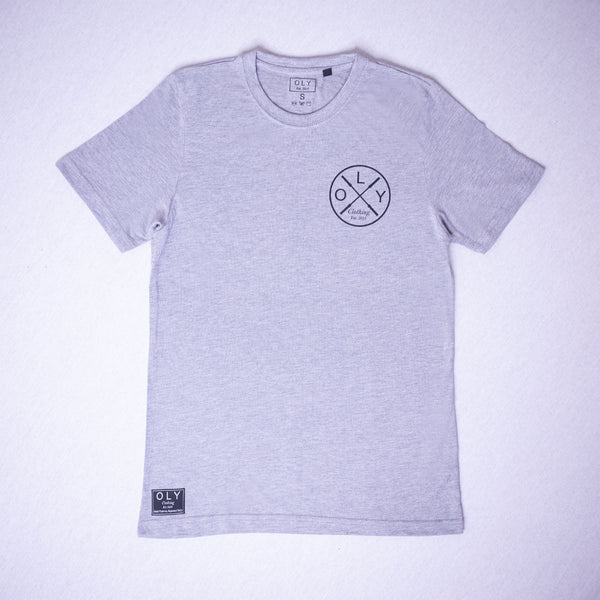 SVRD T-shirt - Heather Grey - OLY Clothing