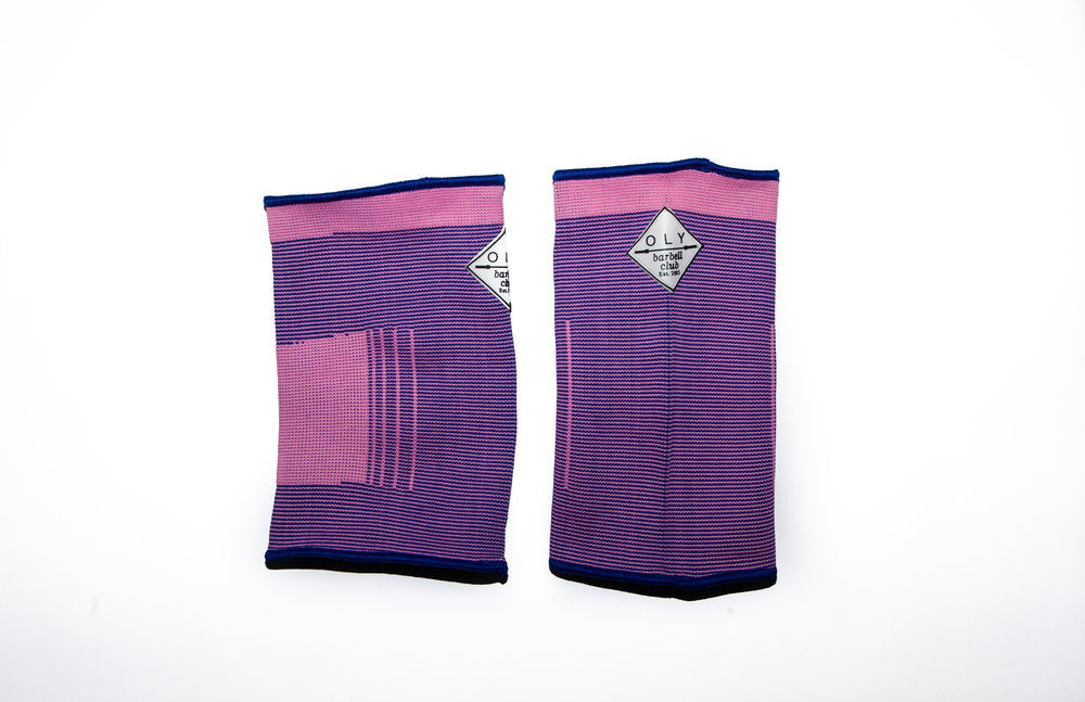 Weightlifting Knee Sleeves - Pink - OLY Clothing