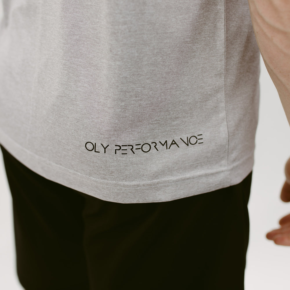 Performance T-shirt - Argento - OLY Clothing