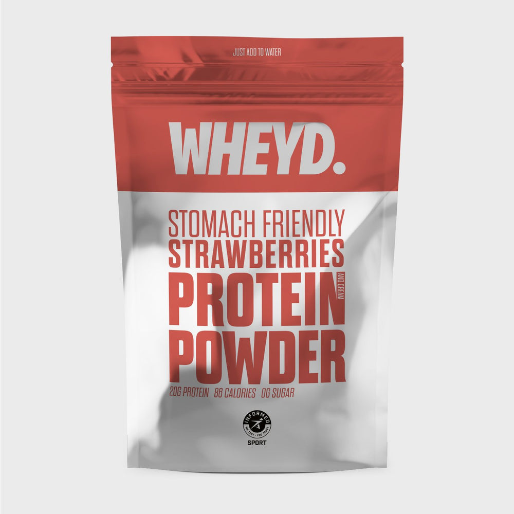 WHEYD - Strawberries & Cream Lactose Free 720g - OLY Clothing