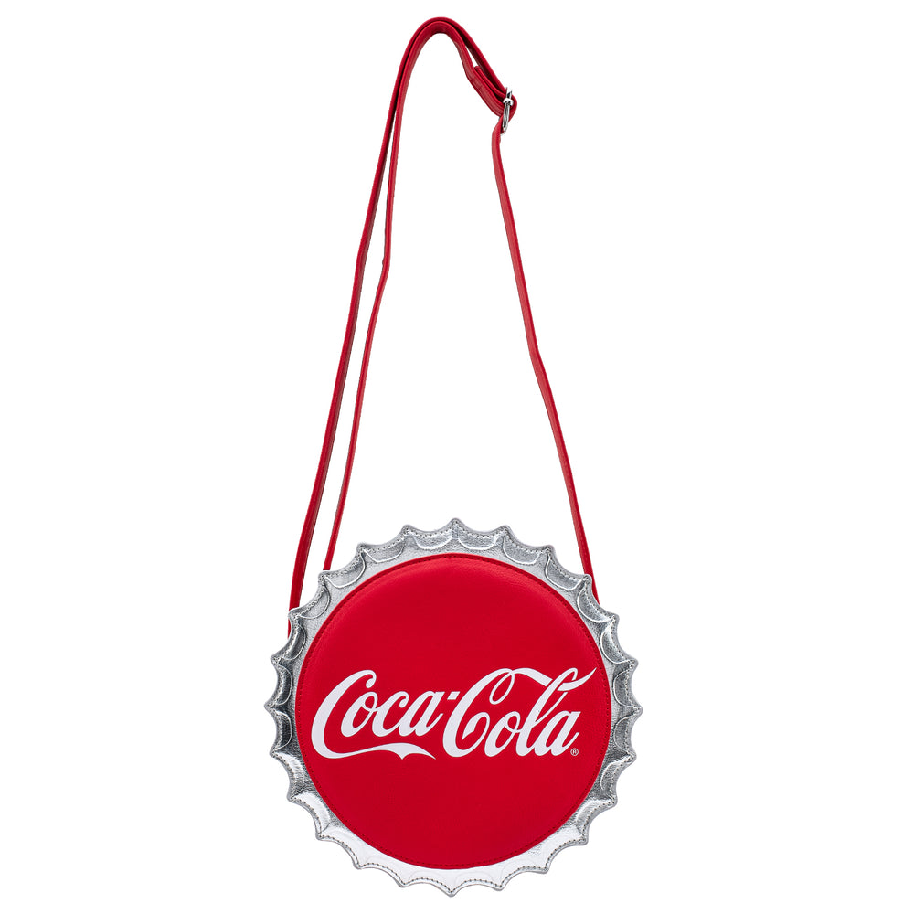 Coca-Cola Bottle Cap Crossbody Bag-zoom