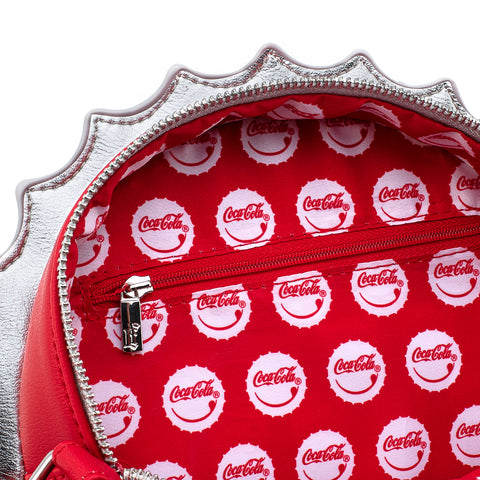 Coca-Cola Bottle Cap Crossbody Bag