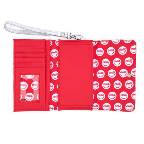 Loungefly X Coca-Cola Logo Wristlet Wallet