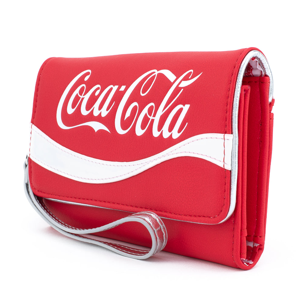 Loungefly X Coca-Cola Logo Wristlet Wallet-zoom