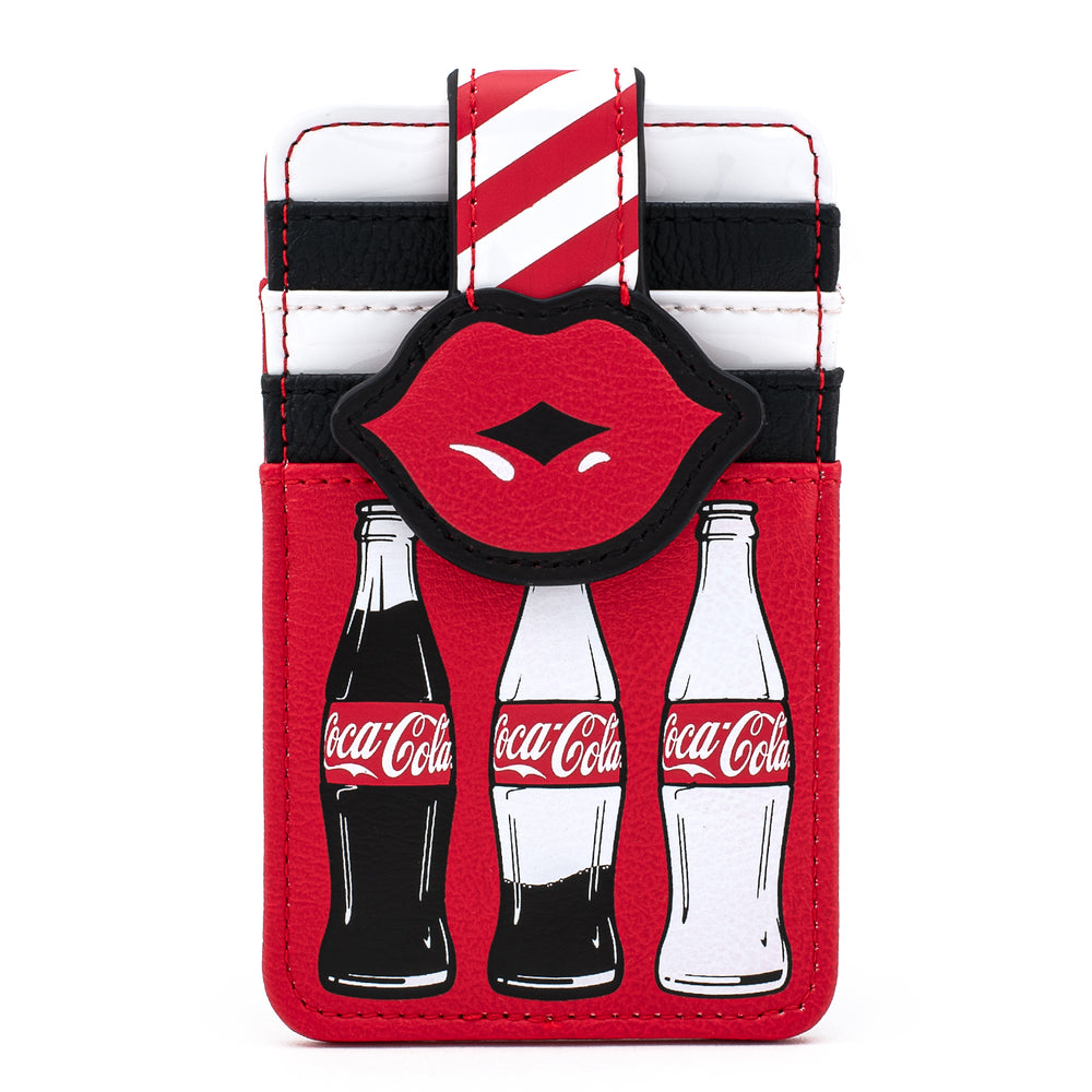 Coca-Cola Bottles and Lips Card Holder-zoom