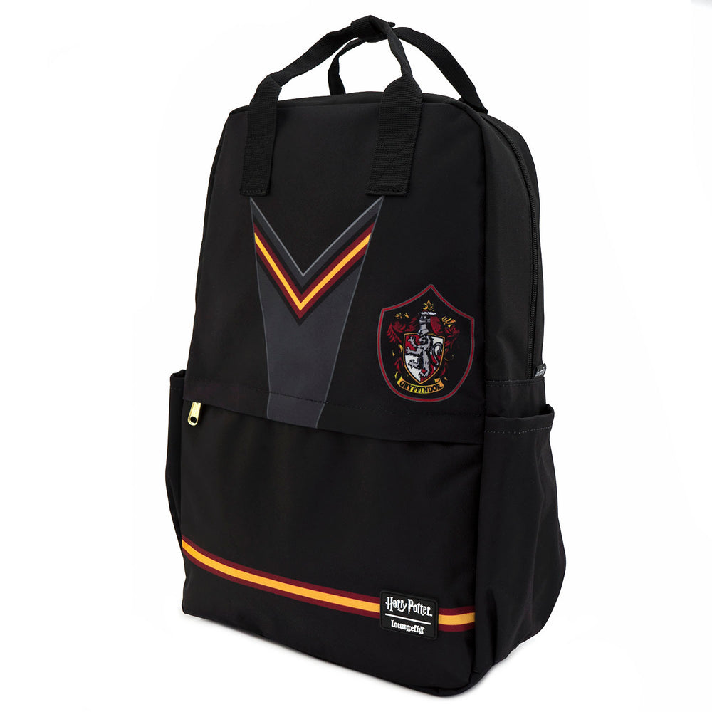 Loungefly X Harry Potter Gryffindor Suit Square Nylon Backpack-zoom