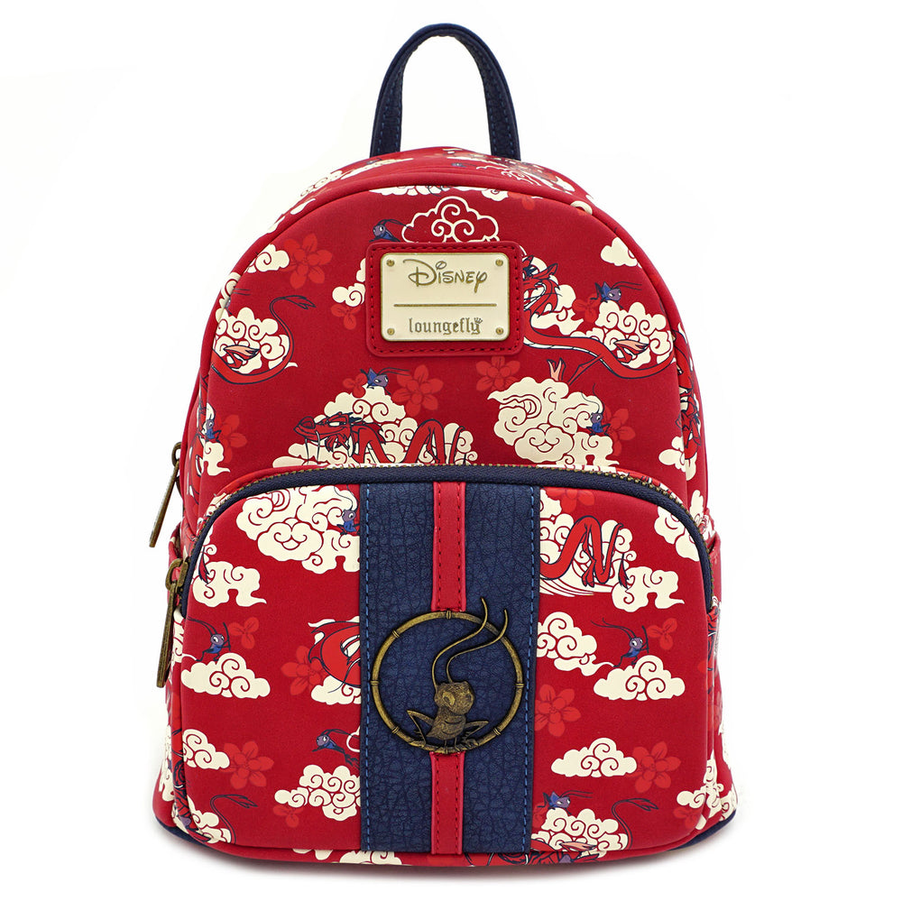 Loungefly X Disney Mulan Mushu Cloud Mini Backpack-zoom