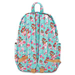 Loungefly X Disney Mulan Mushu and Crikee Flower Nylon AOP Backpack