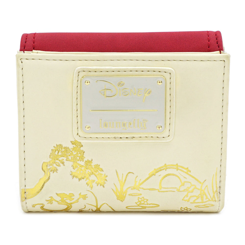 Loungefly x Disney Mulan Bamboo Lock Wallet-zoom