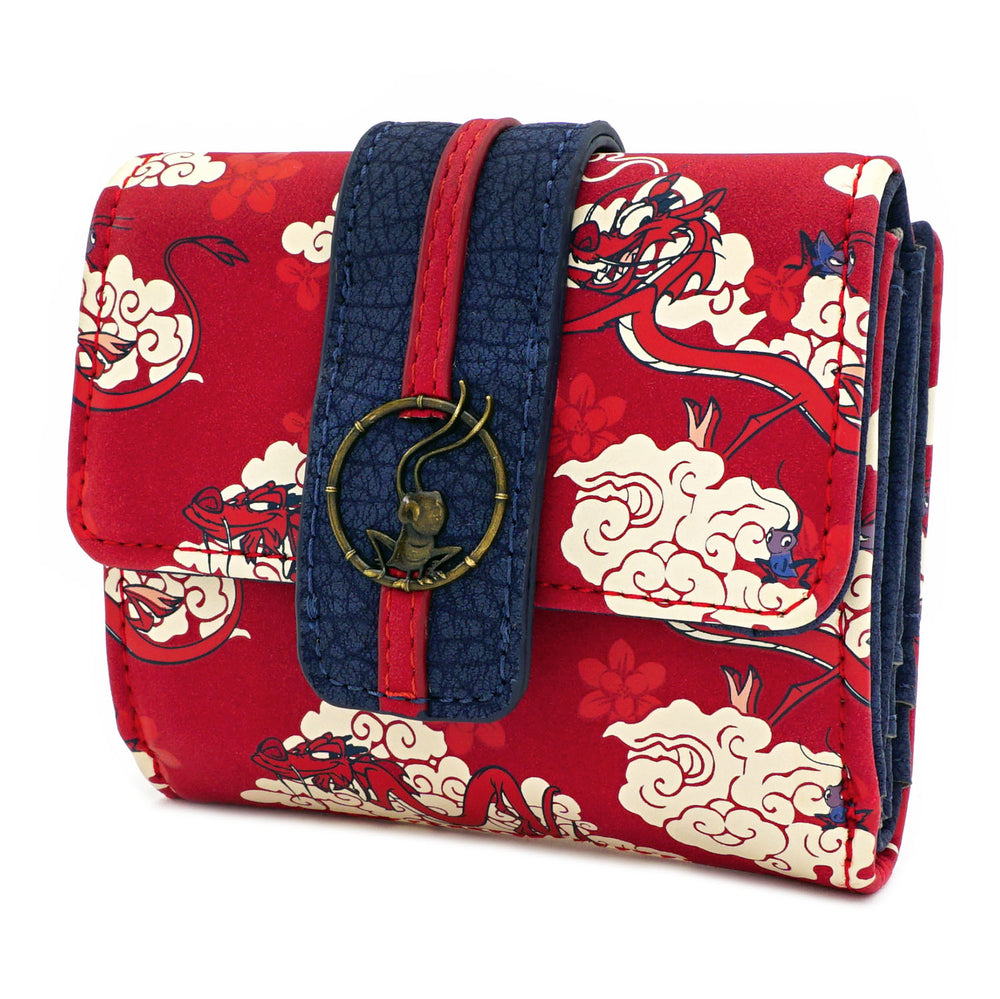 Loungefly X Disney Mulan Mushu Cloud Wallet-zoom