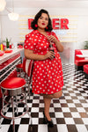 "Stitch Shoppe X Coca-Cola Bottle Cap AOP ""Desy"" Dress"