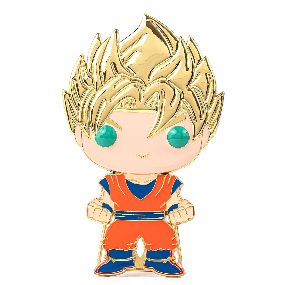 Dragon Ball Z Super Saiyan Goku Funko Pop! Pin-zoom