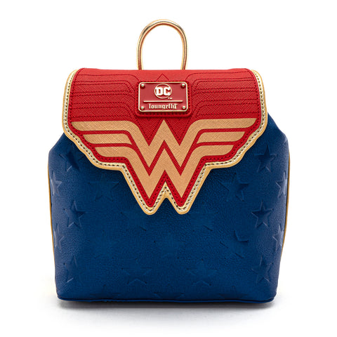 Loungefly X DC Comics Wonder Woman Classic Logo Mini Backpack