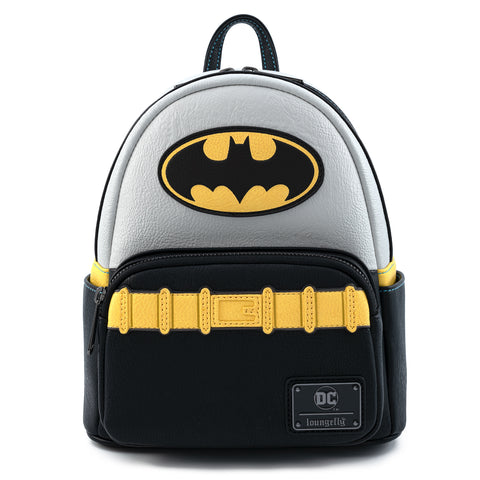 Loungefly X DC Comics Vintage Batman Cosplay Mini Backpack