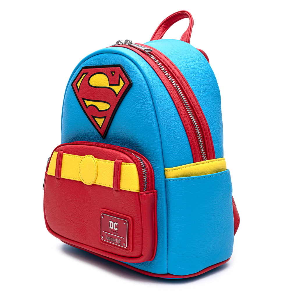DC Comics Classic Superman Cosplay Mini Backpack-zoom