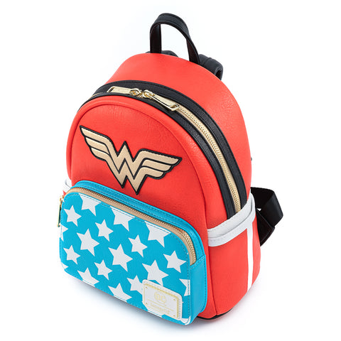 DC Comics Vintage Wonder Woman Cosplay Mini Backpack