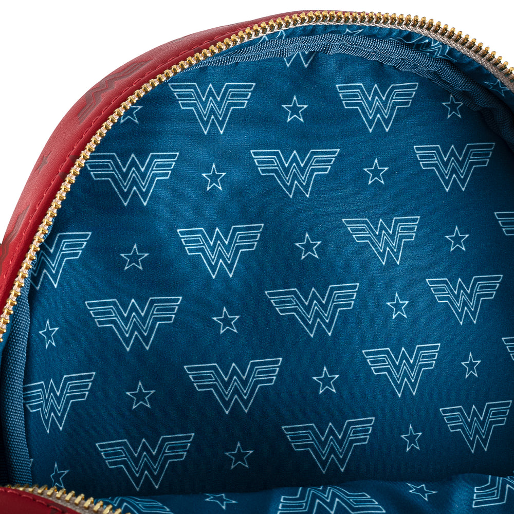 DC Comics Wonder Woman 1984 Virtual Convention Mini Backpack-zoom