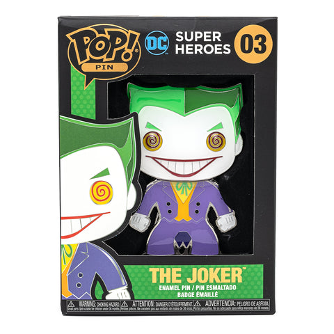 DC Comics Joker Funko Pop! Pin