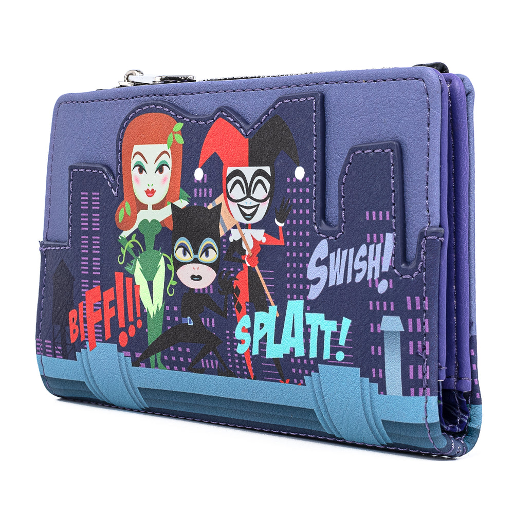 DC Comics Gotham City Sirens Flap Wallet-zoom